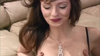 Pegged In Stockings! Canada's Kinkiest MILF Shanda Fay!  strap on ass pegging pegged femdom canadian amateur cumshot milf kink brunette stockings housewife canada body suit shandafay