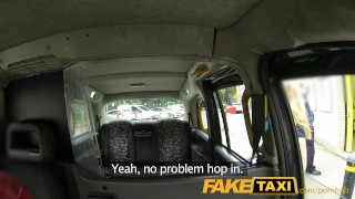 FakeTaxi Horny young teen takes on old cock Korean of