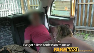 FakeTaxi Horny young teen takes on old cock Cfnm point