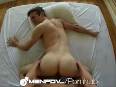 MenPOV Friend surprises his mate with a good fuck
