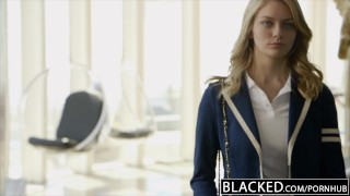 BLACKED Blonde Girlfriend Alli Rae Loves Black Cock Interracial amateur