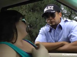 Rachelle core handjob in the car hand job mom mother blonde milf jerking car public