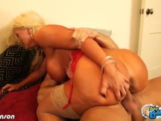 Italian Big Ass Porn Tube — Big assed Alura Jenson fucking at Sex Strike