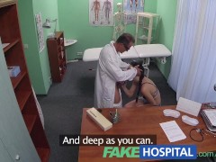 FakeHospital Doctor prescribes sperm to cure patients illness
