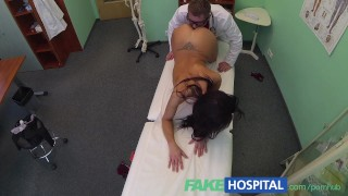 Lucky fakehospital patient sexual treatment receives healing cam exam
