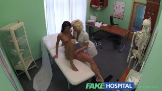 FakeHospital Lucky patient receives sexual healing treatment Skinny riding