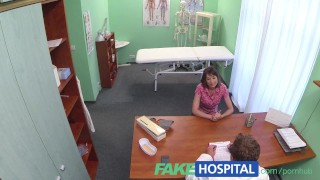 Patient on advice wants her dildo pussy fakehospital inside stuck doctor lesbo