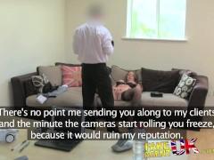 FakeAgentUK Fucking rimming and creampie for escort seeking porn work