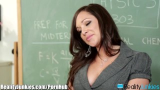 RealityJunkies Mr. Pete Fucks Horny Teacher to Pass