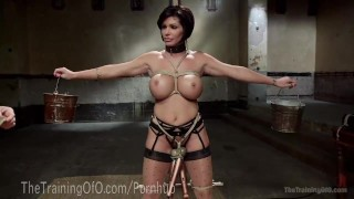 Slave MILF With Huge Tits Humiliation rough