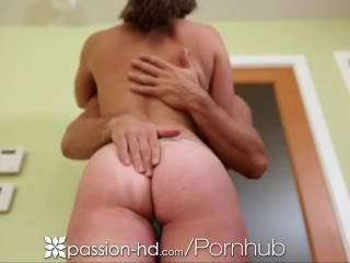 Passion-HD Man comes home to his girlfriend ready to suck