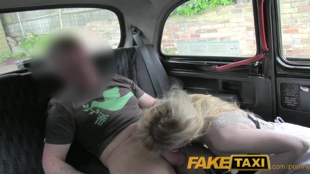 Real hairy ginger minge Faketaxi hairy minge surprise for randy taxi driver