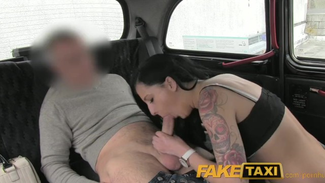 Nasty aunt fucking nep - Faketaxi black haired tattooed young british women fucking on backseat