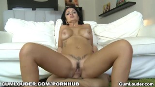 Preview 4 of Hot Spanish MILF gets a hard fuck after a public blowjob