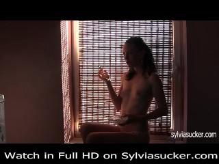 Erotic Smoking Cutie Young Milf Marlboro 100 s Smoking Sylvia Chrystall