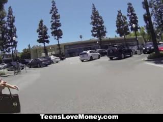 Teenslovemoney - money talks, keisha grey fucks!