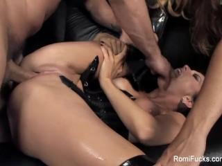 Romi Rain & Alison Tyler Behind The Scenes Hardcore