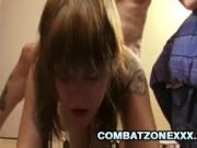 Mariah Mars - Tattooed SchoolGirl Gets Nasty Hardcore Sex