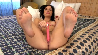 Preview 3 of beautiful alexis blaze solo and her sexy feet