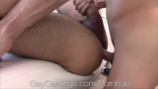 HD - GayCastings web cam performer likes to show off