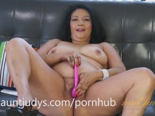Big bbw cum insode