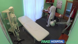 Patient fakehospital money no russian pays sexy short but has fakehospital cameras