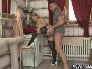 He cheats with hot mother-in-law