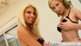 Fist Flush Hot lesbians fist fucking each other