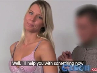 The Saboteur Porn Fucking, Czech Blonde takes two dicks in Casting interview