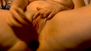 Multiple once at  toys squirting fuck