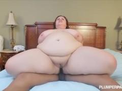 Huge Tit MILF Lady Lynn Fucks Sons Black Friend