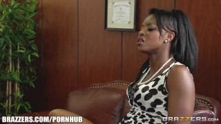 Dirty office threesome - Brazzers 3sum first