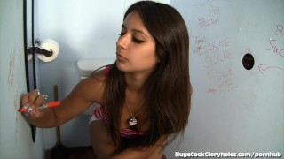 Jynx Maze Sucks Big Dick in Gloryhole  big ass big cock masturbation gloryhole cumshot big dick hugecockgloryholes handjob peruvian latina anal facial hidden camera glory hole porn star bubble butt shaved pussy finger ass