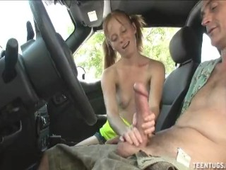 Elsa Frozen Redtube Horny Teen Babe Handjob In The Car