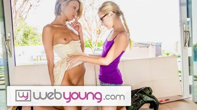 Girls licking girls vagina Webyoung teen lesbian dakota skye tries pussy