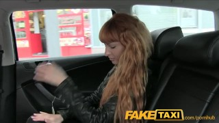 Preview 1 of FakeTaxi Sexy redhead takes a pounding from behind