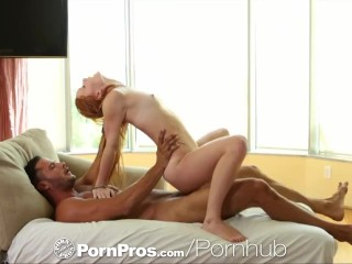 HD – PornPros Young Alex Tanner gets cum blasted on freckled face