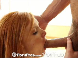HD - PornPros Young Alex Tanner gets cum blasted on freckled face