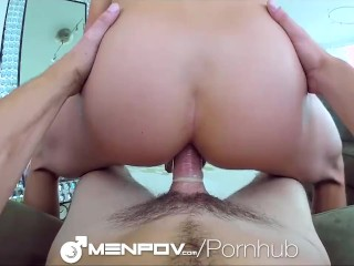 HD - MenPOV Cute guys fuck in front of mirror