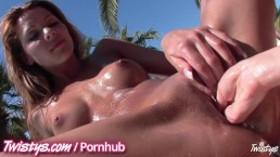 Teen Ass and pussy fingering