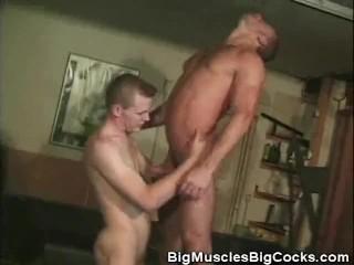 Bareback And Cumming Muscled Jocks