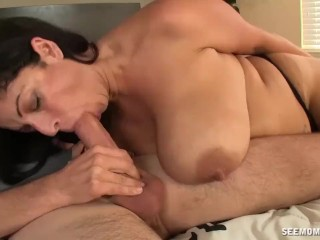 Hot Porn Redtube Huge - Titted Milf Enjoys This Big Cock
