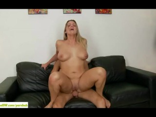 Curvy Cougar Bethany Taylor Bounces On Cock
