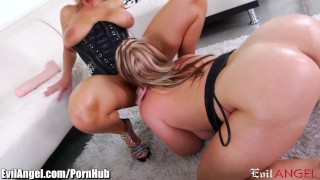 Stretch pussies and squirt naughty evilangel milfs ass ejaculation