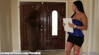Cock takes inches milf jade of on jewels black boobs cougar