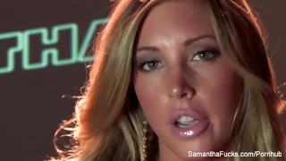 Samantha Saint's Solo DP