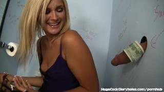 Hot Blonde Blows In Public Bathroom  public bathroom public masturbation big cock babe blowjob blonde gloryhole small tits hugecockgloryholes handjob gagging facial hidden camera glory hole natural tits deep throat shaved pussy