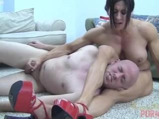 Angela Salvagno Anal Porn - Angela Salvagno Destroys Dante - Pornhub.com