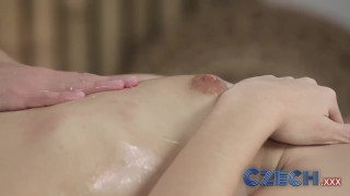 Czech Beautiful young girls give each other G spot orgasms