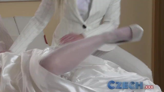 Free adult game idea - Czech young bride changes her mind and sleeps with best friend